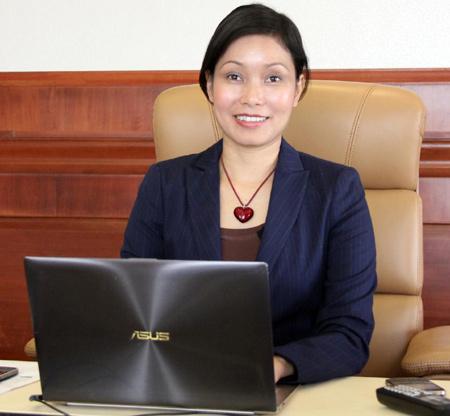 Bà Lê Thị Thu Thủy- PCT kiêm TGĐ Vingroup