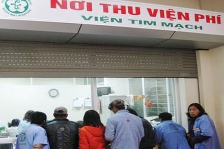 Viện phí Hà Nội sắp tăng tới 75% từ 1/8