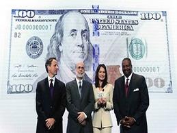 Mỹ sắp lưu thông tiền 100 USD mẫu mới 2013