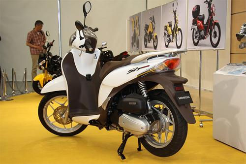 Ảnh xe Honda SH mode 2013