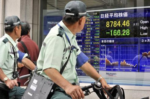 chung khoan chau a, chung khoan chau a ngay 7/5/2013, thị trường chứng khoán châu á