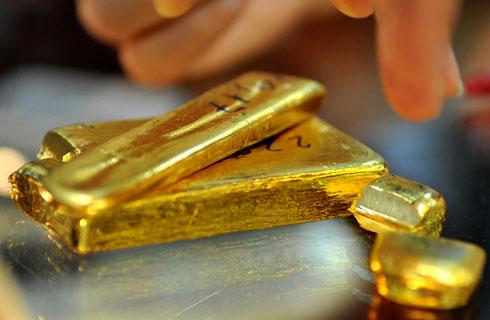 Giá vàng thế giới tăng trở lại