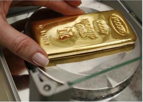 Giá vàng thế giới ngày 31/5/2013