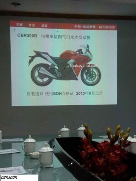 Honda CBR 300R sắp được bán ra thị trường trong tháng 09/2013