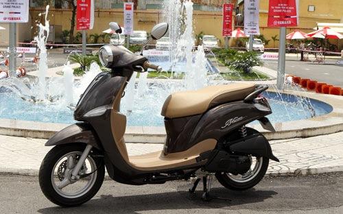 Xe Nozza Yamaha bị triệu hồi, thu hồi
