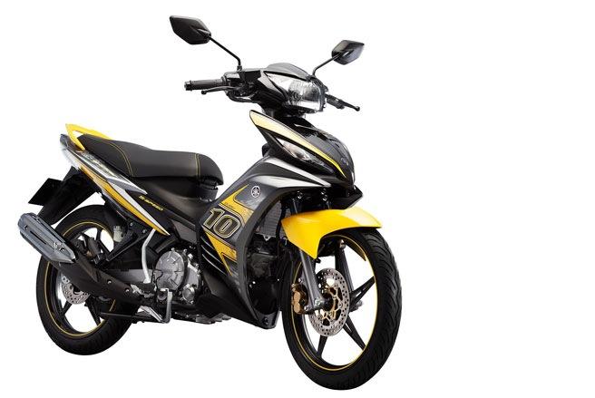 Mẫu xe Yamaha mới ra mắt Exciter 2013
