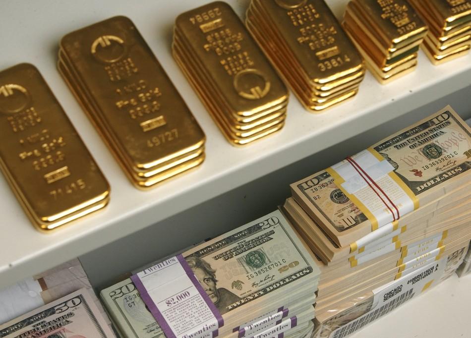 Giá vàng ngày 27/6/2013 giảm xuống mức thấp nhất gần 3 năm
