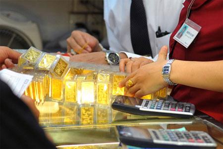 Giá vàng SJC ngày 11/6/2013