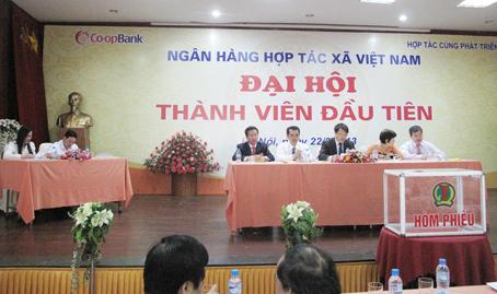 Thành lập ngân hàng Hợp tacx xã Việt Nam