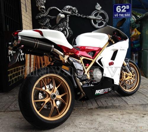 Xe Ducati độ, độ xe Ducati, độ xe máy, Ducati 848 Evo