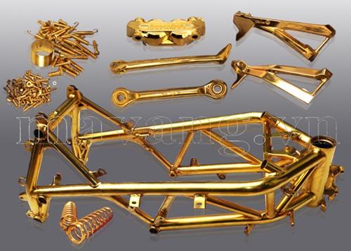 Xe ducati, xe ducati 848 evo, xe ducati 848 mạ vàng, xe máy ducati mạ vàng 24k