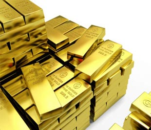 Giá vàng 9999 ngày 24/7/2013 tăng vượt 1.340 USD/oz