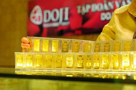 Ngân hàng nhận giữ vàng hộ sẽ phải ghi lại sê ri?
