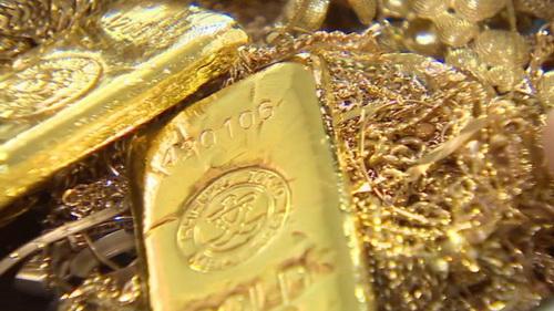 Giá vàng thế giới lên cao nhất trong 4 tháng qua