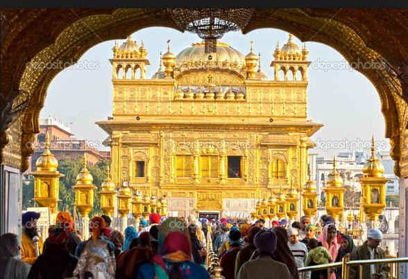 Chùa vàng linh thiêng, ngôi chùa dát vàng ở Ấn Độ