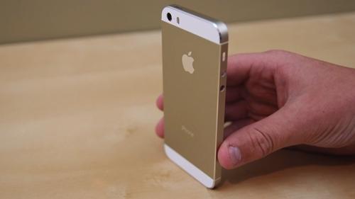 iPhone 5s mau vang, giá bán iPhone 5s mạ vang