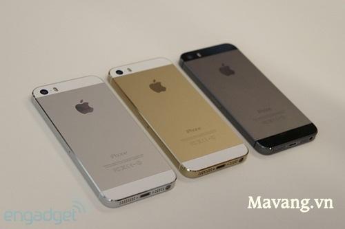 Các phiên bản của iPhone 5S và iPhone 5C mạ vàng