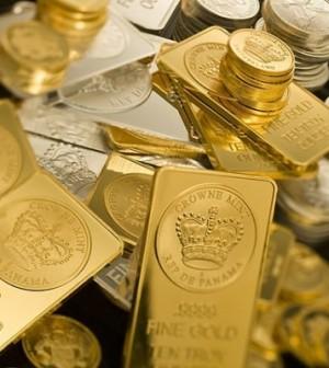 Giá vàng ngày 1/11/2013 giảm mạnh đến mức thấp nhất trong 3 tuần