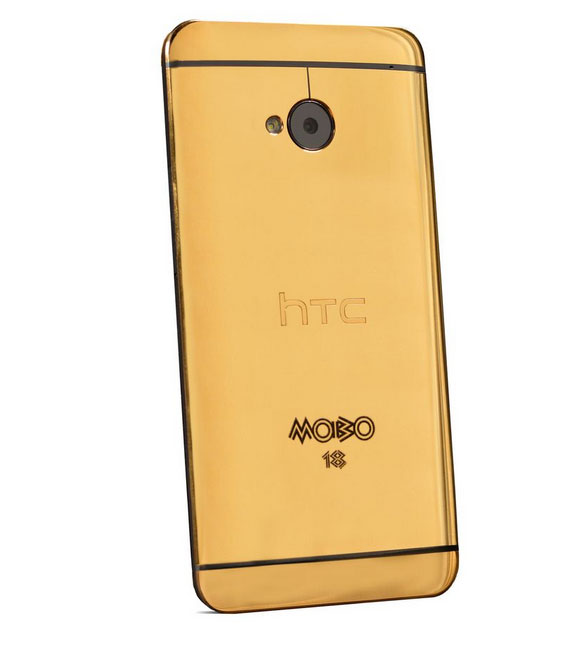 Điện thoại HTC One mạ vàng, HTC One mạ vàng