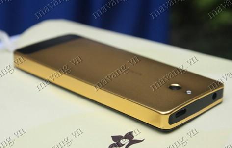 Nokia515 mạ vàng 24K, điện thoại Nokia mạ vàng