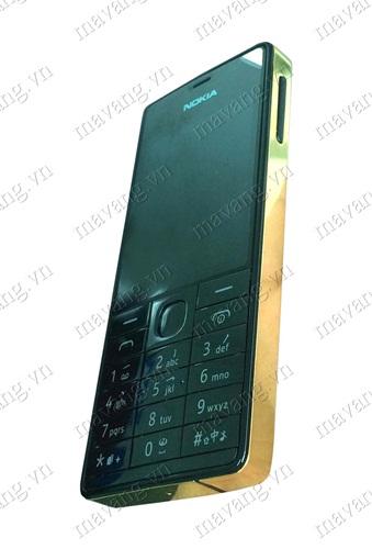 Nokia 515 hai sim, Điện thoại Nokia 515 2 sim mạ vàng 24K