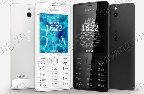 Độc lạ với Nokia 515 mạ vàng 24K