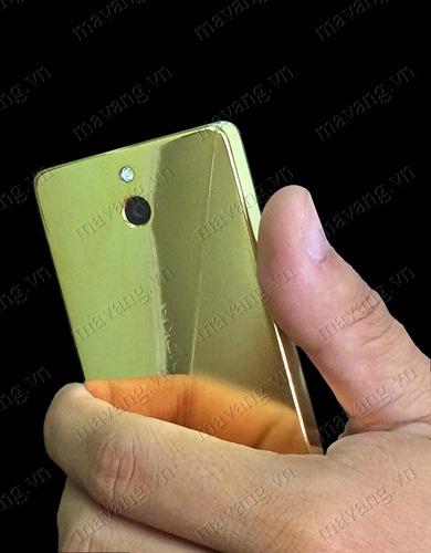 Nokia mạ vàng 24k, điện thoại NOkia 2 sim mạ vàng 18K