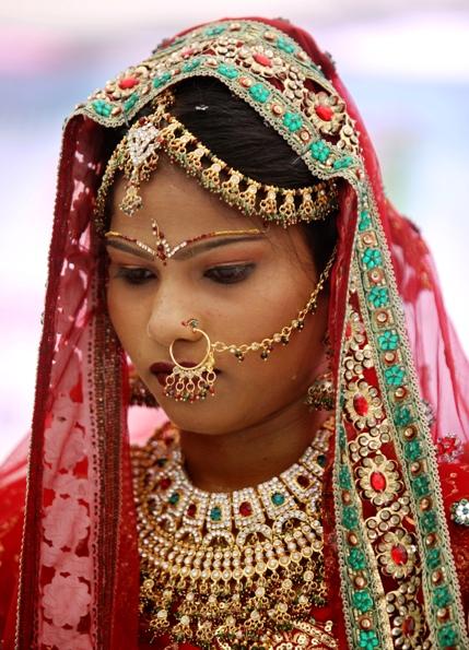 Cô dâu Ấn Độ trong ngày cưới