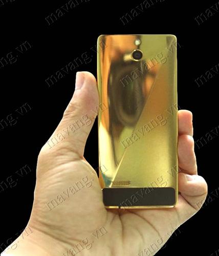 Nokia 515 mạ vàng, điện thoại Nokia 515 hai sim mạ vàng 24K