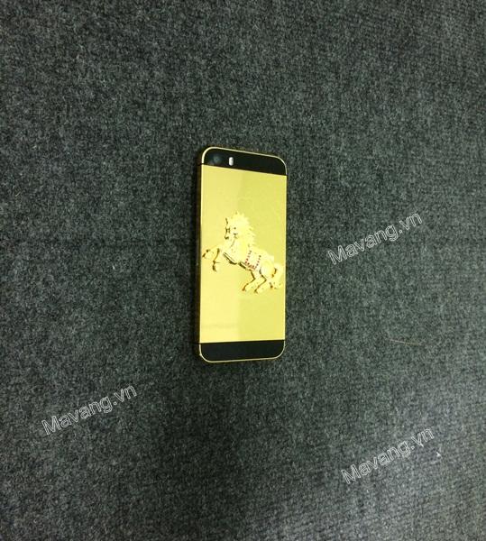 iphone 5s mạ vàng, iphone 5s ma vang 24K, điện thoại iphone, iphone ma vang