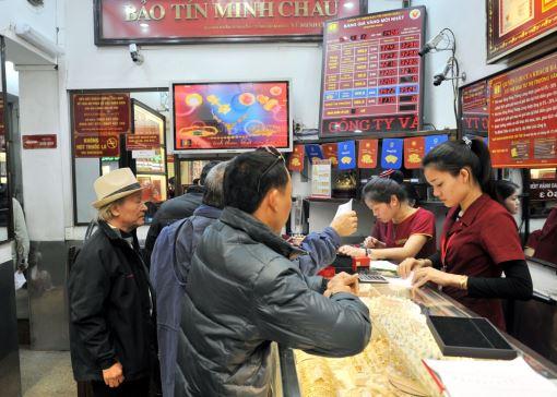 Bản tin thị trường vàng Bảo Tín Minh Châu ngày 25/12/2013