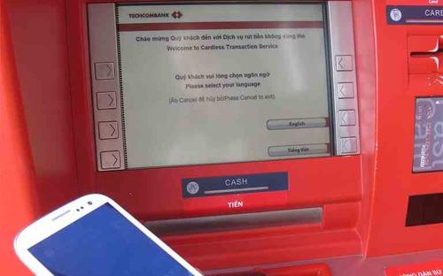 Dịch vụ chuyển tiền cho người nhận qua điện thoại di động của Techcombank