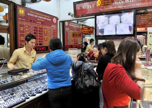Giá vàng tại Bảo Tín Minh Châu ngày 2/12/2013