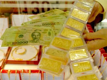 Giá vàng SJC chiều 2/1/2014 đồng loạt tăng xong lại giảm