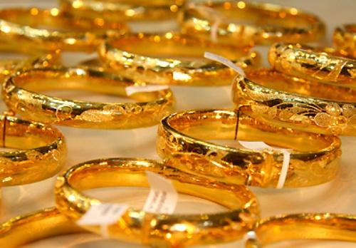 Giá vàng chiều 15/1/2014 tiếp tục giảm từ mức cao nhất trong tháng