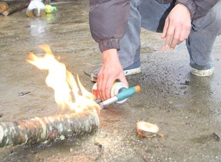 Có nên đốt gốc đào để giữ đào tươi lâu không?
