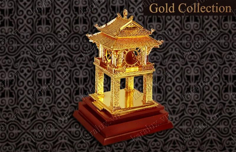 Khuê Văn Các mạ vàng 24k, Quà tặng Tết 2014,Biểu tượng Khuê Văn Các