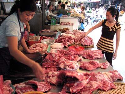 thực phẩm tăng vào ngày cận Tết, gia ca thị trường Tết 2014