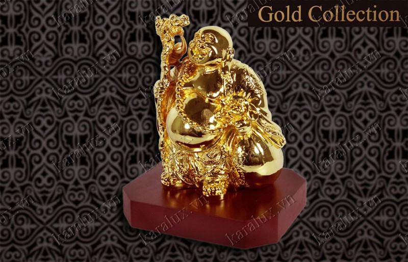 Tượng di lặc đứng mạ vàng 24k, tượng Di lặc, Tượng Phật Di lặc