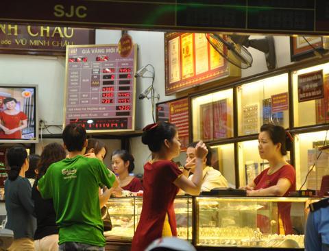 Thị trường và giá vàng Bảo Tín Minh Châu ngày 26/2/2014, giá vàng hôm nay