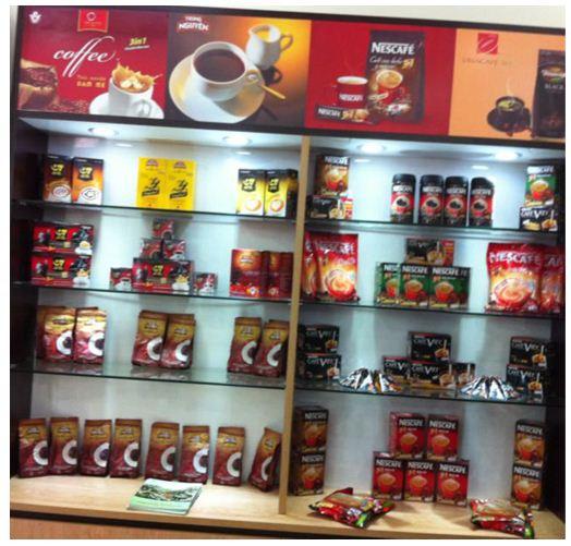 Các sản phẩm cà phê của VICOFA