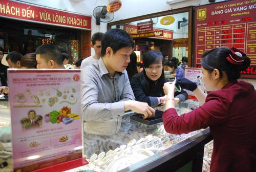 Bản tin thị trường vàng Bảo Tín Minh Châu ngày 13/2/2014, Giá vàng Rồng Thăng Long