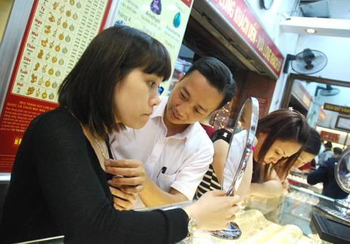 Giá vàng ngày 25/2/2014 và bản tin thị trường vàng Bảo Tín Minh Châu