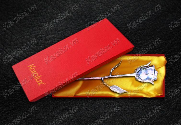 hoa hông mạ vàng, giá bông hồng màu socola, hoa hồng mạ vàng 24k