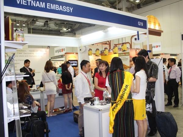 Doanh nghiệp, Công ty của Việt tham gia hội chợ cà phê tại Singapore