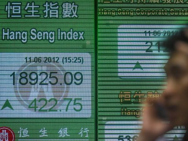 Chứng khoán châu Á tăng nhẹ theo sau mức đỉnh mới của phố Wall
