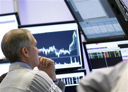 Chứng khoán châu Âu quay đầu giảm từ mức đỉnh 5 tuần