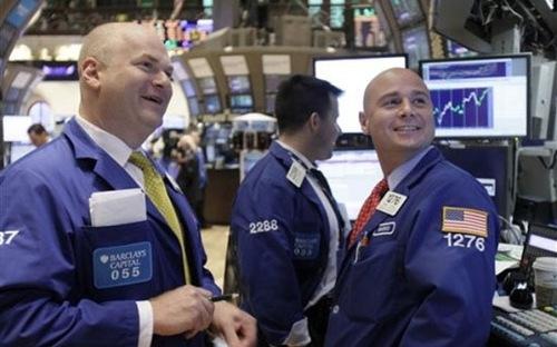 Chứng khoán Mỹ ngày 9/4/2014 bật tăng nhờ cổ phiếu công nghệ