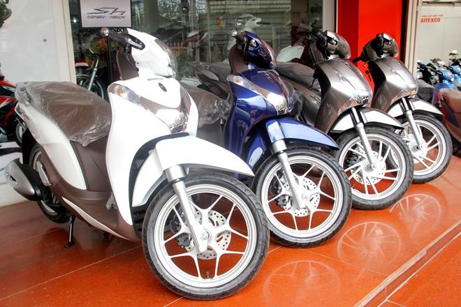 Honda SH và SH mode bán dưới giá đề xuất cả triệu đồng do ế ẩm