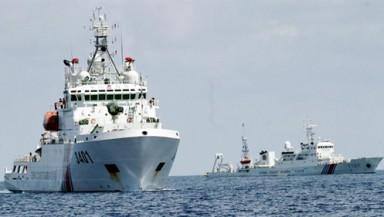 Các tàu bán vũ trang của Trung Quốc đang đe dọa hiện trạng trên Biển Đông